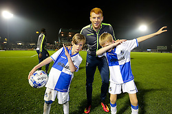 Mascots - Rogan Thomson/JMP - 01/11/2016 - FOOTBALL - Memorial Stadium - Bristol, England - Bristol Rovers v Fleetwood Town - Sky Bet League One.