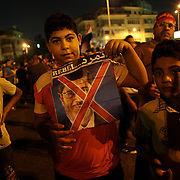 2 days before the Egyptian army gave a 48 hours ultimatum to ex President Morsi to step down, Egyptian people are organising protests in various areas of Cairo and other towns of Egypt - Bulak district, Cairo - 29/06/2013 2013
