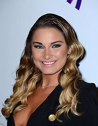 Sam Faiers attends Out In The City and g3 Readers' Awards, second annual awards thrown by gay magazines g3 and Out In The City, recognising outstanding individuals, companies and groups in the field of LGBT equality, at The Landmark Hotel,  London, United Kingdom. Friday, 25th April 2014. Picture by Nils Jorgensen / i-Images