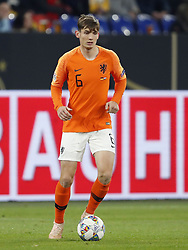 Marten de Roon of Holland during the UEFA Nations League A group 1 qualifying match between Germany and The Netherlands at the Veltins Arena on November 19, 2018 in Gelsenkirchen, Germany