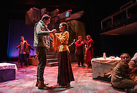 Romeo and Juliet dress rehearsal with the Winnipesaukee Playhouse.   Karen Bobotas for the Laconia Daily Sun