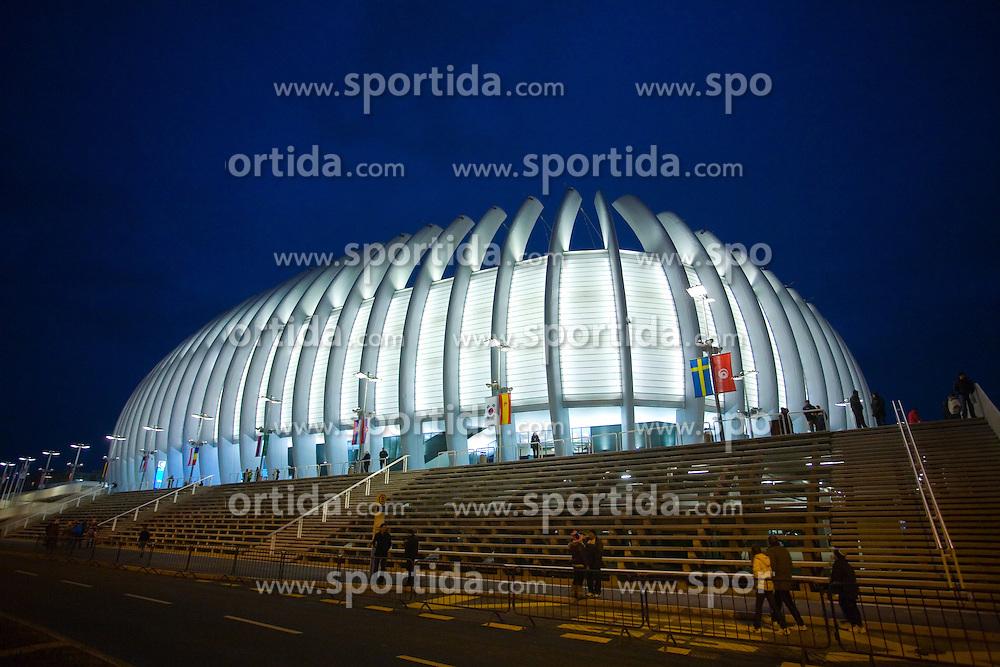 Handball Arena Zagreb, on January 30, 2009, in Arena Zagreb, Zagreb, Croatia.  (Photo by Vid Ponikvar / Sportida)