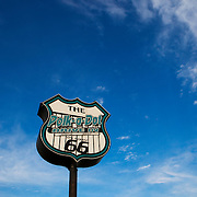 The Polk-a-Dot drive in on historic U.S. Route 66. The Mother Road  starts in Chicago traveling through 6 states and ending in Santa Monica, California.<br /> Photography by Jose More