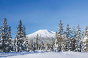 Mt. Bachelor is located in Central Oregon