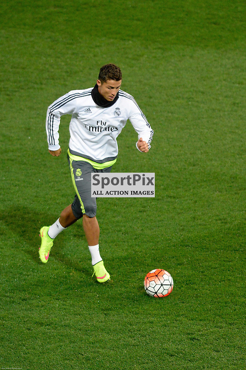CRISTIANO RONALDO - Real Madrid open training session at Aami Park, 16th July 2015. Melbourne in the lead up to the International Champions Cup game against A.S. Roma.  Melbourne Australia. © Mark Avellino | SportPix.org.uk
