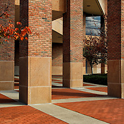 &quot;Columns Squared&quot;<br /> <br /> Wonderful columns and squares create a beautiful geometric architectural image!!<br /> <br /> Architecture, structures, buildings and their details by Rachel Cohen