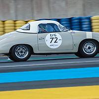 #72, Porsche 356 Speedster, 1956, drivers: Heiko Ostmann, Jochen Mass, Grid 2, on 06/07/2018 at the 24H of Le Mans, 2018