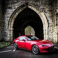 Pictures show the new Mazda MX5 on Location in Whalley, Lancashire, Brownhill Garage, Whalley New Road, Blackburn BB1 9BA<br /> Pictures by Paul Currie<br /> www.paulcurriephotos.com