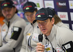 Janez Maric at press conference of Slovenia Biathlon team before new season 2010 - 2011, on November 24, 2010, in Emporium, BTC, Ljubljana, Slovenia.  (Photo by Vid Ponikvar / Sportida)