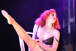 CAPTION CORRECTION. WRONG DATES ON ORIGINAL FILES....© licensed to London News Pictures. 01/05/2011. London, UK. Burlesque performers appearing at the London Burlesque Festival - Legends of the stage tribute & international golden gala on Saturday 30 April 2011 at the Coronet, Elephant & Castle, London. Picture credit should read: Kevin Dunnett/LNP