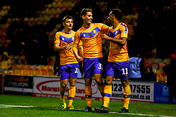 Nicky Maynard of Mansfield Town celebrates his goal - Mandatory by-line: Ryan Crockett/JMP - 09/11/2019 - FOOTBALL - One Call Stadium - Mansfield, England - Mansfield Town v Chorley - Emirates FA Cup first round