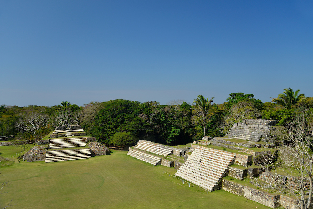 Altun Ha, Maya Archaeological Site,Belize,Central America