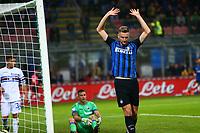 24.10.2017 - Milano - Serie A 2017/18 - 10a giornata  -  Inter-Sampdoria nella  foto: Milan Skriniar esulta dopo il gol dell' 1 a 0