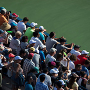 August 30, 2017 - New York, NY : People attend the third day of the U.S. Open, at the USTA Billie Jean King National Tennis Center in Queens, New York, on Wednesday. <br /> CREDIT : Karsten Moran for The New York Times