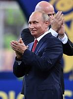 FUSSBALL  WM 2018  FINALE  ------- Frankreich - Kroatien    15.07.2018 Wladimir Wladimirowitsch Putin (Russland)