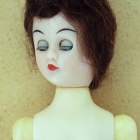 Old fashioned female doll