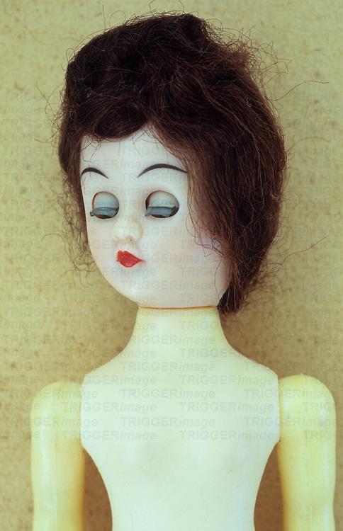 Old fashioned female doll