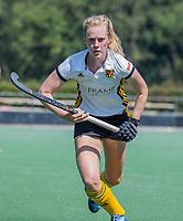 BLOEMENDAAL   -  Elin van Erk (Vict) ,  oefenwedstrijd dames Bloemendaal-Victoria, te voorbereiding seizoen 2020-2021.   COPYRIGHT KOEN SUYK
