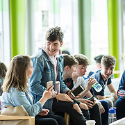 05.09. 2017.                             <br /> Limerick Institute of Technology welcomed its first year students onto Campus today 5th Sept 2017. <br /> Enjoying their time on their first day were, Alice Sheedy, Newmarket-on-Fergus Co. Clare, Business, Travel and Tourism and Andrew Gough, Newmarket-on-Fergus, Social Care. Picture: Alan Place