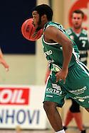 15.11.2014, Pyynikin palloiluhalli, Tampere.<br /> Korisliiga 2014-15, Tampereen Pyrintö - KTP-Basket, Kotka.<br /> Brandon Jefferson - KTP