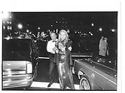 Mr and Mrs Leonard Stern, New York, manhattan, arriving at a party© Copyright Photograph by Dafydd Jones 66 Stockwell Park Rd. London SW9 0DA Tel 020 7733 0108 www.dafjones.com