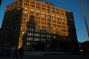 Sibley Square in Rochester, New York on Tuesday, October 4, 2016. Formerly home to Sibley's department store, the 1-million square foot building is being renovated by WinnCompanies to house apartments, commercial space, and retail space. At right is the Liberty Pole, one of Rochester's most recognizable landmarks, originally erected in the mid-19th century.