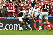 Aston Villa defender Tyrone Mings (40)  and Derby County forward Tom Lawrence (10)  during the EFL Sky Bet Championship play off final match between Aston Villa and Derby County at Wembley Stadium, London, England on 27 May 2019.