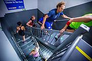 New York, New York, USA, 20130206: Det årlige trappeløpet i Empire State Building går av stabelen. Foto: Ørjan F. Ellingvåg