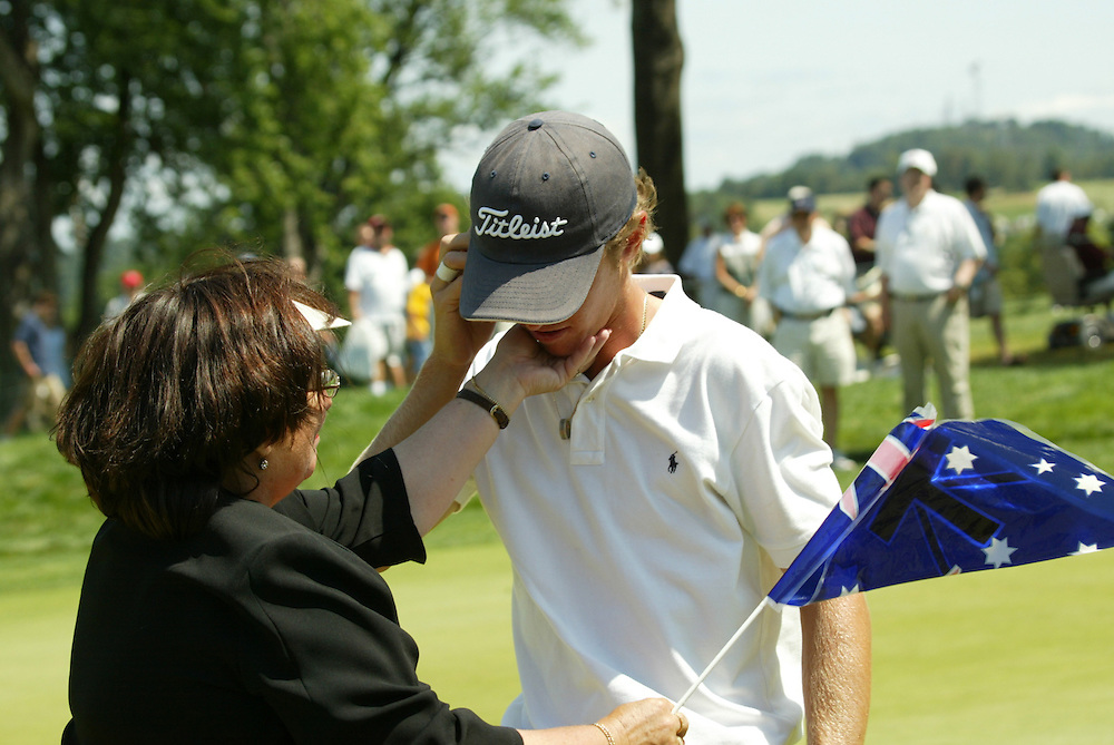 Nick Flanagan.2003 U.S. Amateur Championship.Semifinals.Oakmont Country Club.Oakmont, PA.Saturday, August 23, 2003.photograph by Darren Carroll