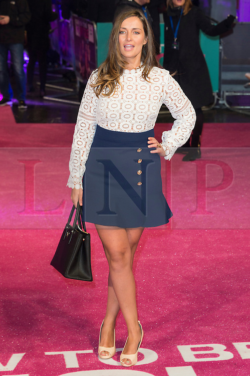 &copy; Licensed to London News Pictures. 09/02/2016. London, UK. FRAN NEWMAN-YOUNG attends the UK film premiere of 'How To Be Single'.  The film is about a woman writing a book about bacherlorettes who becomes embroiled in an international affair while researching abroad<br /> Photo credit: Ray Tang/LNP