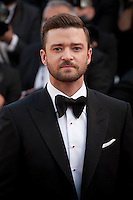 Actor and singer Justin Timberlake at the gala screening for Woody Allen's film Café Society and opening ceremony at the 69th Cannes Film Festival, Wednesday 11th May 2016, Cannes, France. Photography: Doreen Kennedy