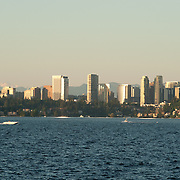Bellevue skyline in Washington.
