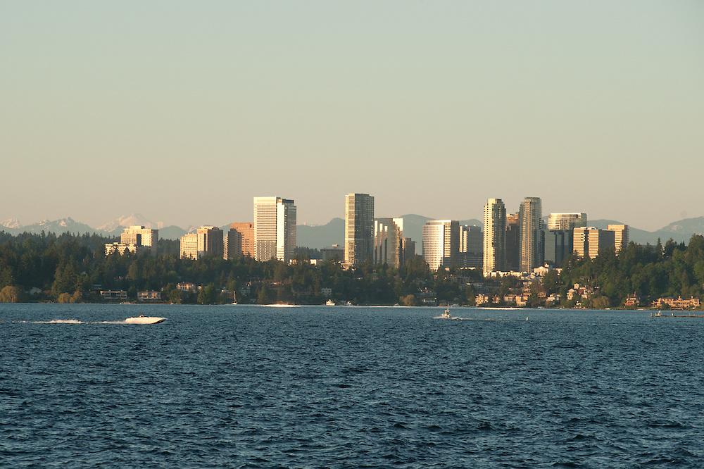 Bellevue skyline in Washington.