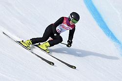 PAPULOVA Mariia LW6/8-2 NPA competing in the Para Alpine Skiing Downhill at the PyeongChang2018 Winter Paralympic Games, South Korea