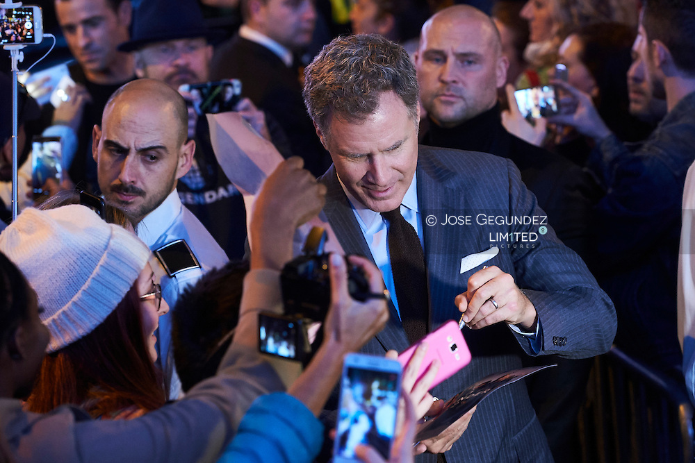 Will Ferrell attend 'Zoolander No. 2' film premiere at Capitol Cinema on February 1, 2016 in Madrid, Spain