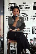 Debra Lee at The Black House during the 2008 Sundance Film Festival. ..HISTORY..The Blackhouse Foundation was created in 2007 by a group of dedicated individuals interested in black cinema - preserving and furthering its legacy. Black House works to provide a platform for African American filmmakers to use their voice to tell stories by and about African Americans in the world of independent and feature films...Black filmmakers made history in 2007, the year The Blackhouse Foundation launched the Blackhouse® venue at the 2007 Sundance Film Festival.  Blackhouse® played host to over 150 daily visitors with more than 1,200 people visiting the venue throughout the festival.  Blackhouse® was open to the public throughout the day, hosted workshops, a legendary nightly cocktail hour, a marquee party for Our Stories Films, LLC and launched a landmark fellows program for young, aspiring filmmakers.  ..MISSION..The mission of the Blackhouse Foundation is to expand opportunities for Black filmmakers by providing a physical venue for our constituents at the world's most prominent film festivals and creating a nucleus for continuing support, community, education and knowledge.  .