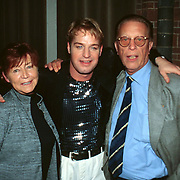 CD uitreiking Tony Neef, Tony met John de Mol Sr. en zijn vrouw