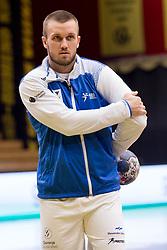 Niko Medved of Slovenia before Handball friendly match before EURO 2018 between Slovenia and Serbia, on January 10, 2018 in Rdeca dvorana, Velenje, Slovenia. Photo by Urban Urbanc / Sportida