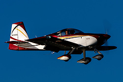 Van's RV-7A (N2395K) on approach to Palo Alto Airport (KPAO), Palo Alto, California, United States of America
