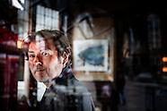 Portret  DBC Pierre schrijver