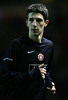 Photo: Paul Thomas.<br /> Manchester United v Middlesbrough. The FA Cup, Quarter Final replay. 19/03/2007.<br /> <br /> Craig Cathcart, new boy, of Utd warms up.