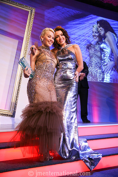 Music Industry Trusts' Award Dinner 2007- Kylie Minogue<br /> 29, 10, 2007, <br /> Grosvenor Hotel, London, England,<br /> Photo: John Marshall, JM Enternational