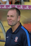 Russell Wilcox during the Friendly match between York City and Leeds United at Bootham Crescent, York, England on 15 July 2015. Photo by Simon Davies.