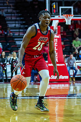 NORMAL, IL - December 18: Godwin Boahen during a college basketball game between the ISU Redbirds and the UIC Flames on December 18 2019 at Redbird Arena in Normal, IL. (Photo by Alan Look)