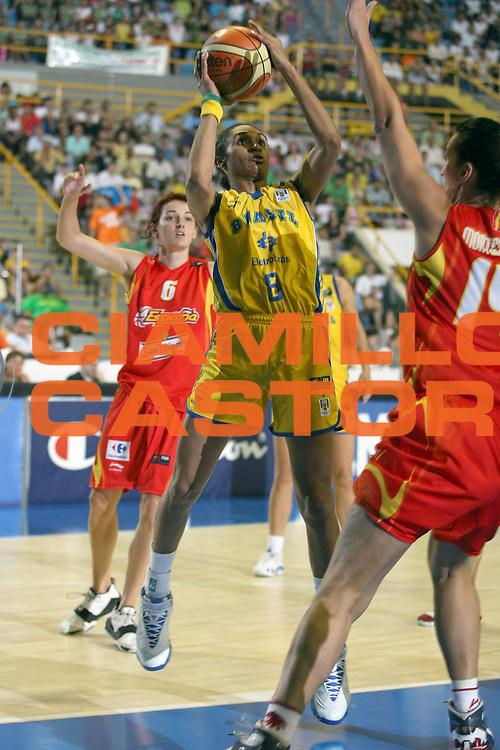 DESCRIZIONE : San Paolo Sao Paolo Brasile Brazil World Championship for Women 2006 Campionati Mondiali Donne Brazil-Spain<br /> GIOCATORE : Marques<br /> SQUADRA : Brazil Brasile Spain Spagna<br /> EVENTO : San Paolo Sao Paolo Brasile Brazil World Championship for Women 2006 Campionati Mondiali Donne Brazil-Spain<br /> GARA : Brazil Spain Brasile Spagna<br /> DATA : 14/09/2006 <br /> CATEGORIA : <br /> SPORT : Pallacanestro <br /> AUTORE : Agenzia Ciamillo-Castoria/E.Castoria <br /> Galleria : world championship for women 2006<br /> Fotonotizia : San Paolo Sao Paolo Brasile Brazil World Championship for Women 2006 Campionati Mondiali Donne Brazil-Spain<br /> Predefinita :