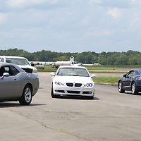Courses were set up on air strips for teen drivers to put into practice what they learned throughout the day during the defensive driving class