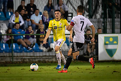 Martin Kramarič of Maribor and Alen Kozar of Mura during football match between NŠ Mura and NK Maribor in 4th Round of Prva liga Telekom Slovenije 2019/20, on Avgust 3, 2019 in Fazanerija, Murska Sobota, Slovenia. Photo by Blaž Weindorfer / Sportida