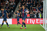 Edinson Roberto Paulo Cavani Gomez (El Matador) (El Botija) (Florestan) (PSG) desagree with the referee because he must scored a new goal during the French Championship Ligue 1 football match between Paris Saint-Germain and AS Saint-Etienne on September 14, 2018 at Parc des Princes stadium in Paris, France - Photo Stephane Allaman / ProSportsImages / DPPI