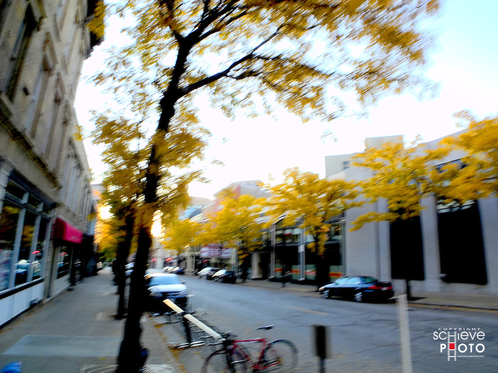 Impressionistic interpretation of downtown Madison, Wisconsin.