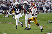 USC Trojans defensive back and running back Adoree' Jackson (2) runs to the 3 yard line in the second quarter during the 2017 NCAA Rose Bowl college football game against the Penn State Nittany Lions, Monday, Jan. 2, 2017 in Pasadena, Calif. The Trojans won the game 52-49. (©Paul Anthony Spinelli)